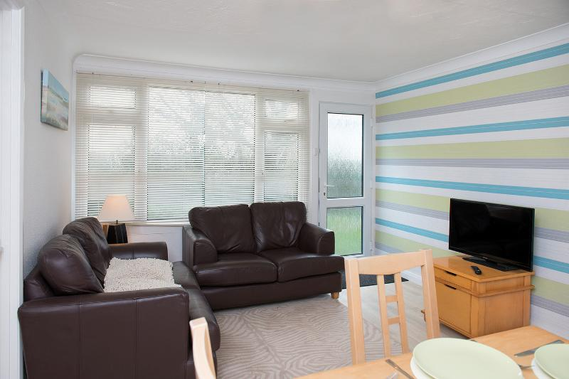 comfortable well equipped accomodation tv with freeview and board games for the kids