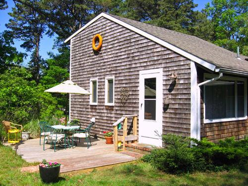 Exterior, The Cherry Suite, Cottage Guest, Eastham, MA, Cape Cod