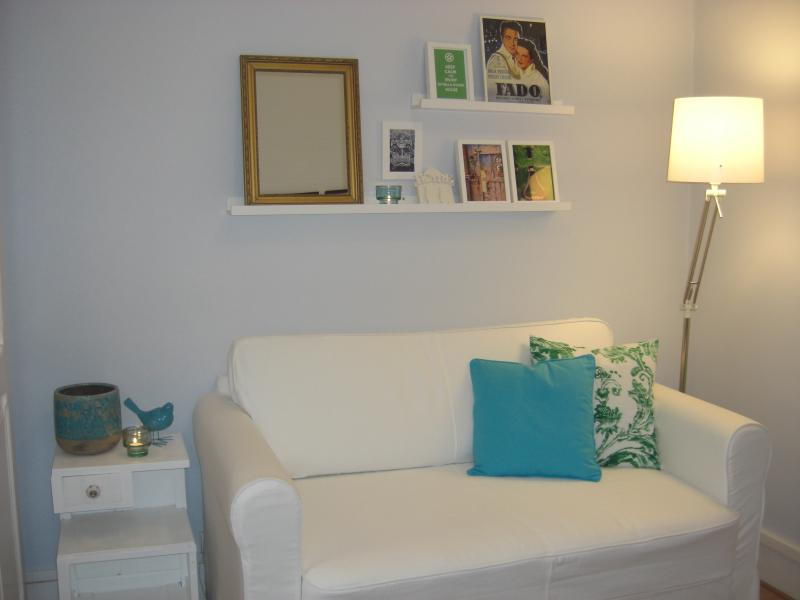 Cosy Living room with sofa bed for 2 (all linen bed included)
