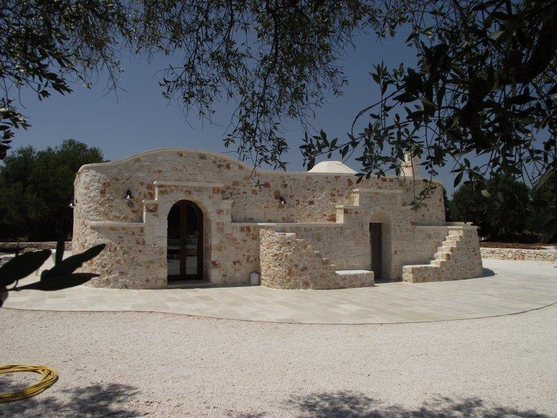 Trullo Saraceno - Main House - Two Bedrooms - 4 Persons