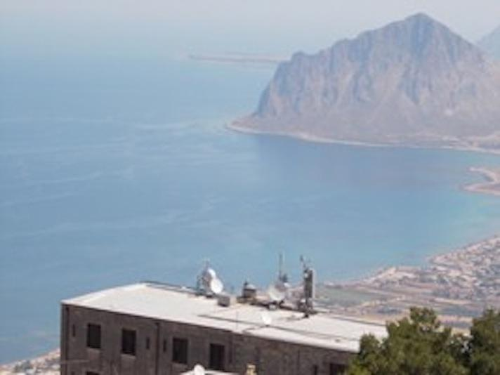 the seaview from Erice