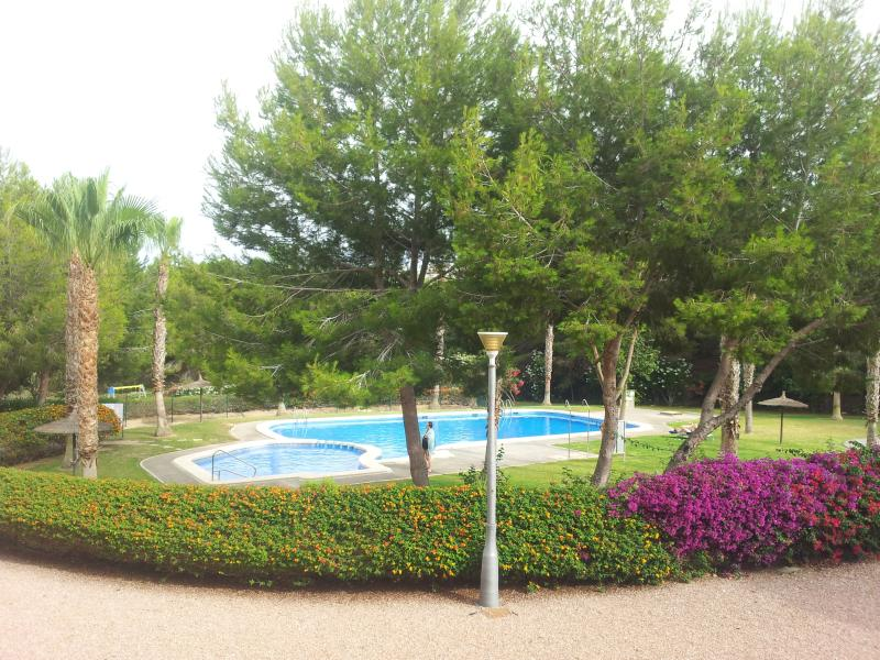 Villa martin 2 bed apartment los dolses with communal pool