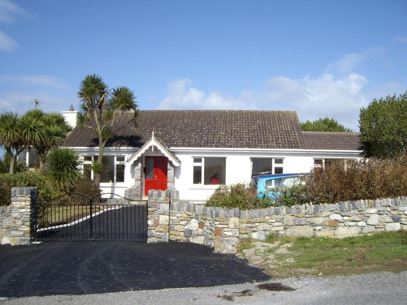 Main Cottage Entrance (Extension not Shown)