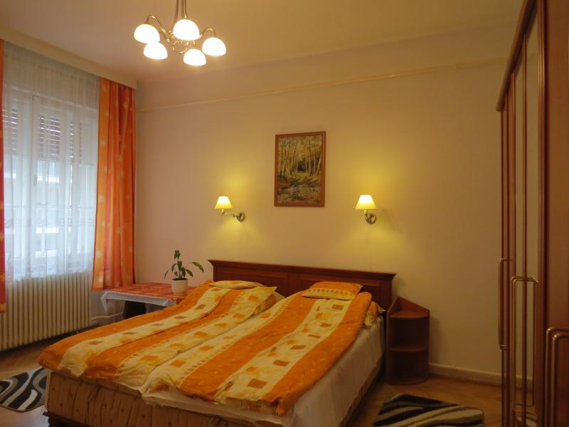 Large bedroom with large double bed