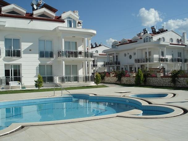 View of the apartment from the pool side