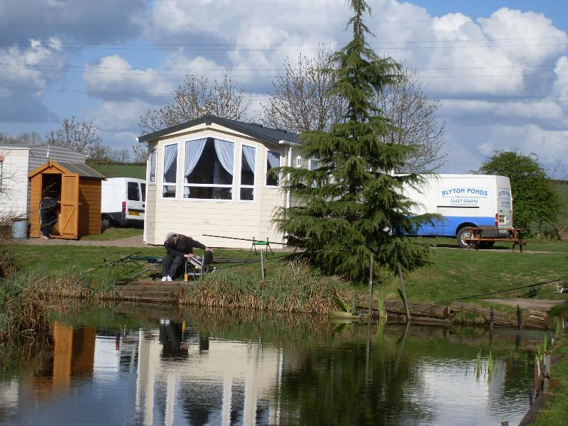 Situated on the banks of one of our 4 ponds