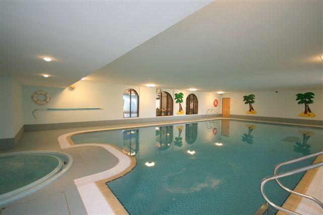 Indoor pool at no extra charge