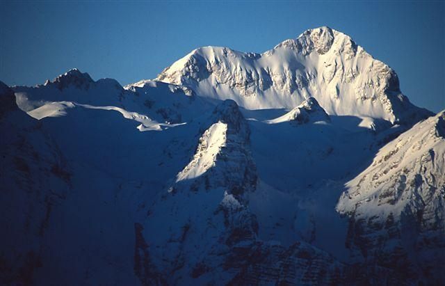 Mt Triglav in winter