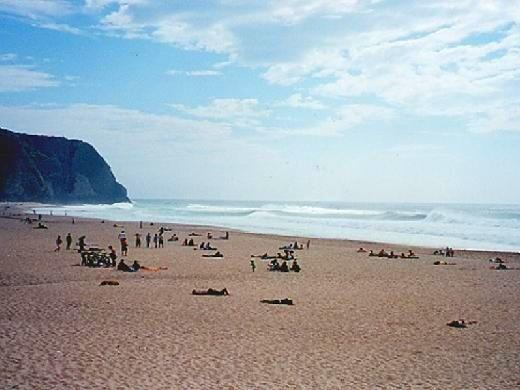 Beach-Praia Grande in Sintra