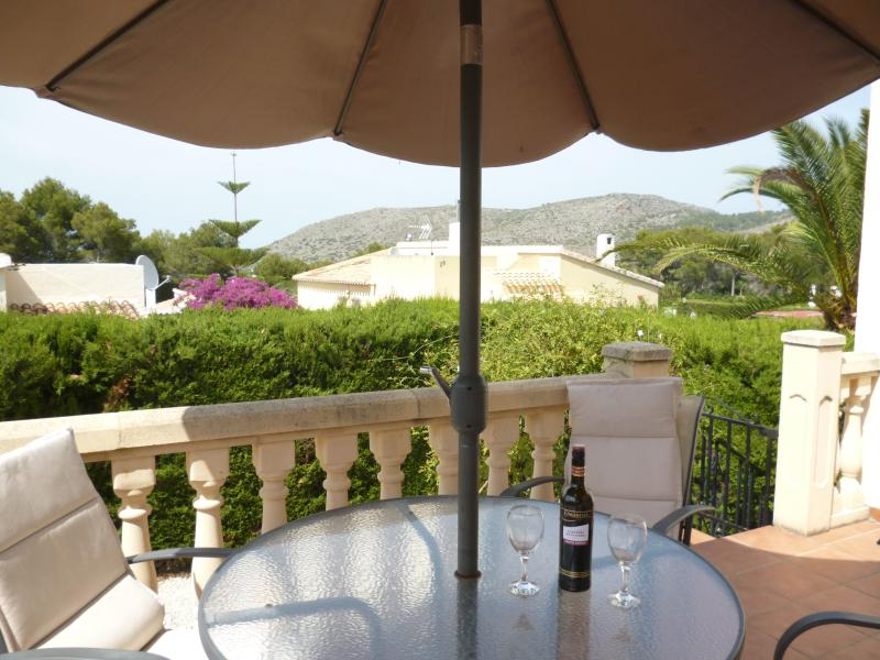Vino and Views from our Front Terrace