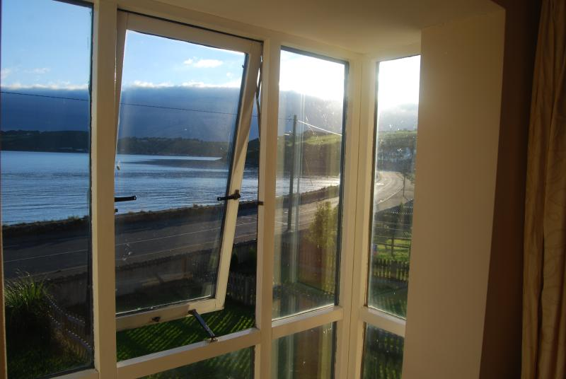 Sea view from master bedroom 'Watch the tide come and go'