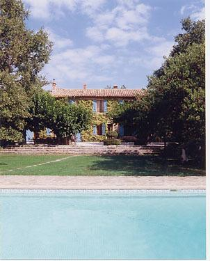 The Farmhouse and the Pool