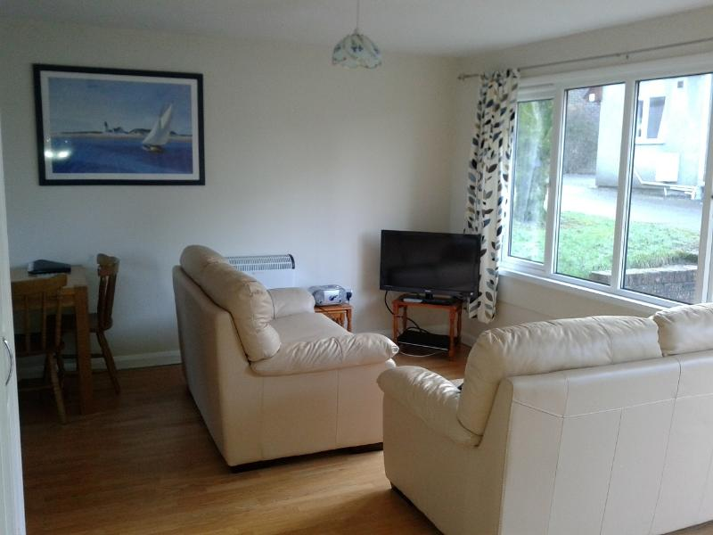 Lounge with flat screen TV (with freeview) DVD player and CD player