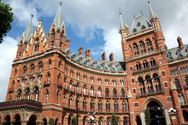 St Pancras Chambers: Gothic fantasy of bricks and spires