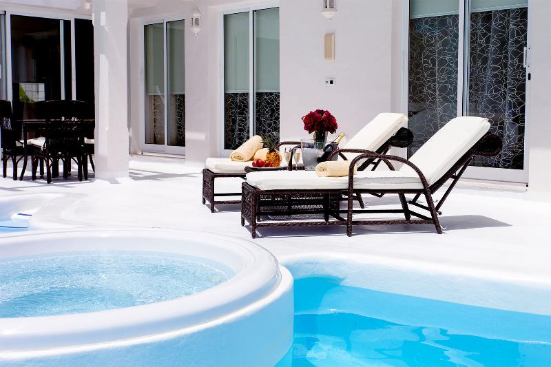 Pool Area with Jacuzzi