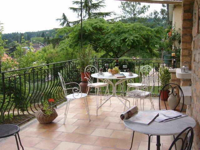 Monet's Large Terrace for Al fresco dining