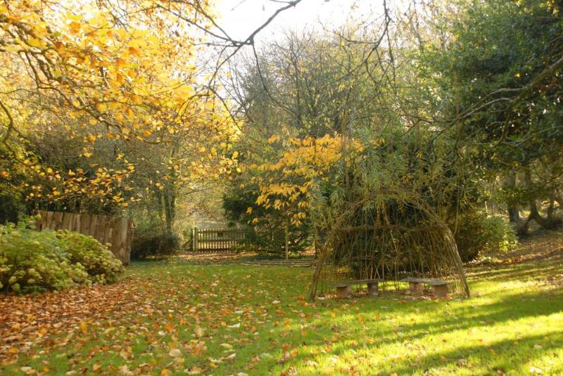 Autumn time - the tended gardens are a delight throughout the year