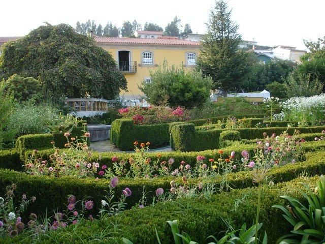 house and gardens