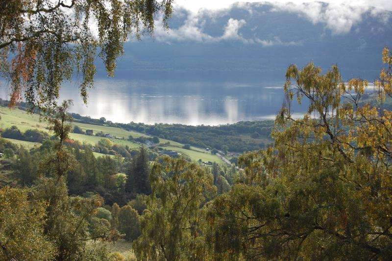 Loch Ness -View from front patio of Premier Lodge No 3