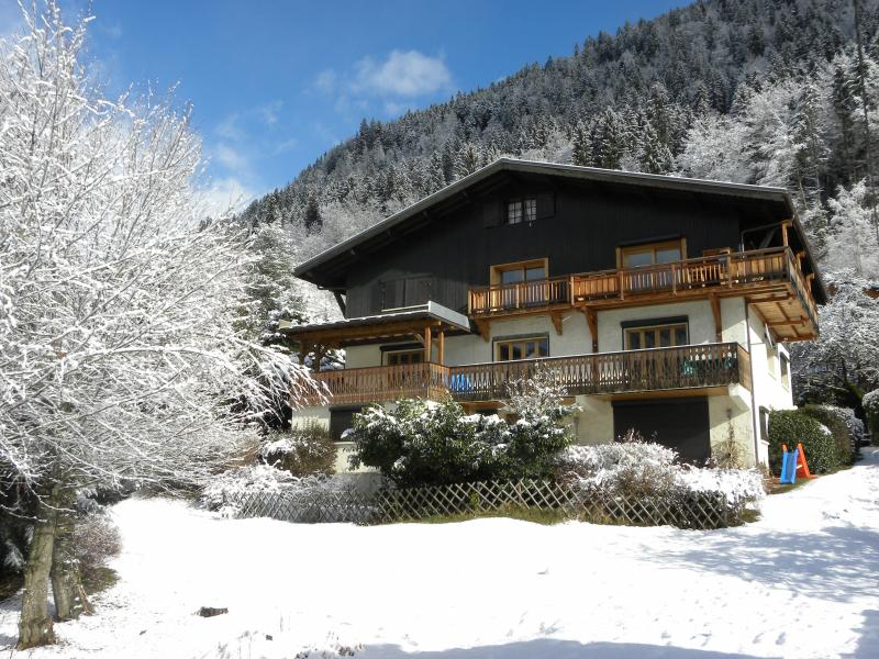 Chalet Mozart in the Snow