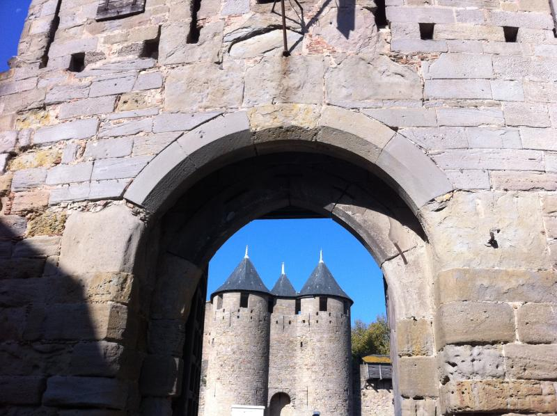 Nearby Carcassonne Castle