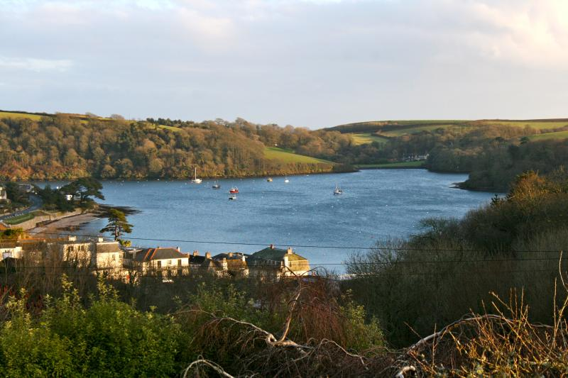 The view from Highbank - a House in St Mawes
