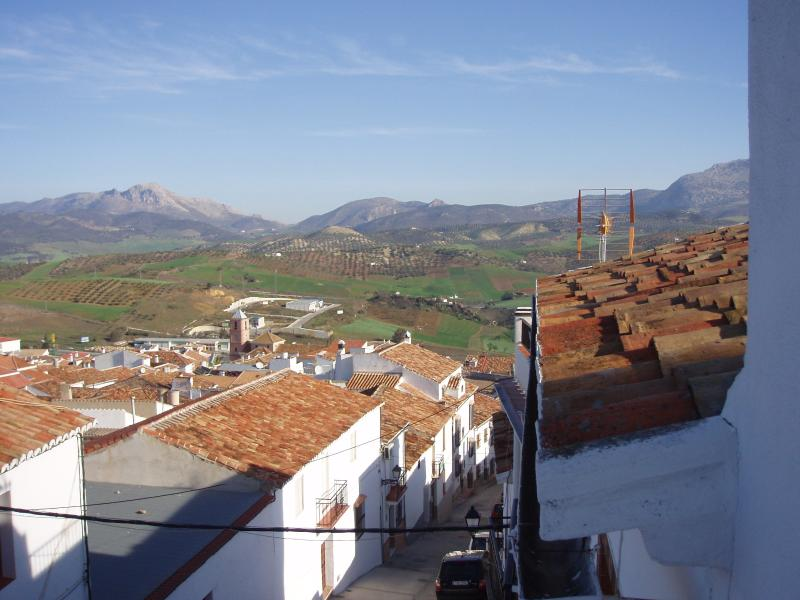 view over the village