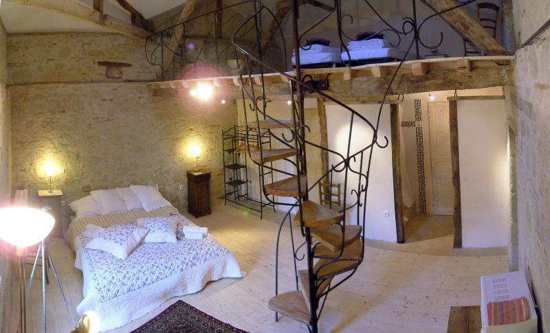 Les Noues, extra bedroom for 4 persons