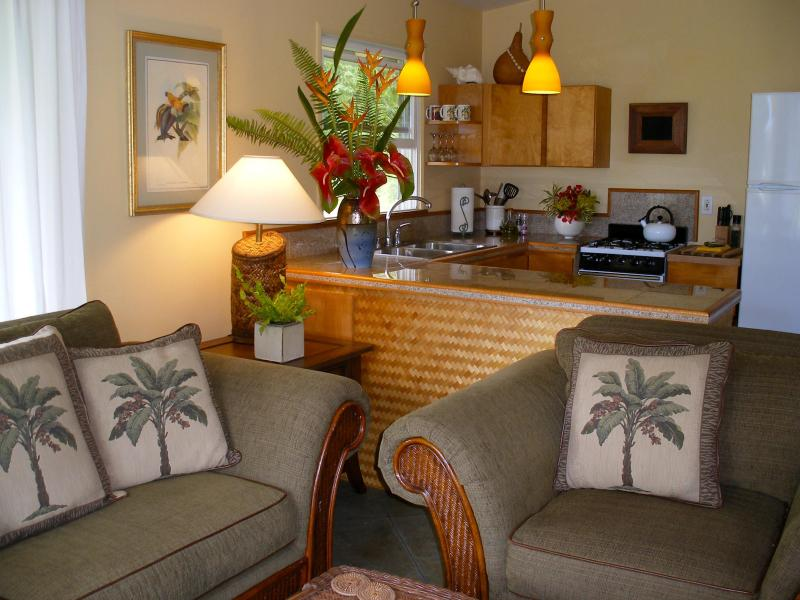 Welcome to the Bamboo Cottage! You'll find elegant, island décor throughout
