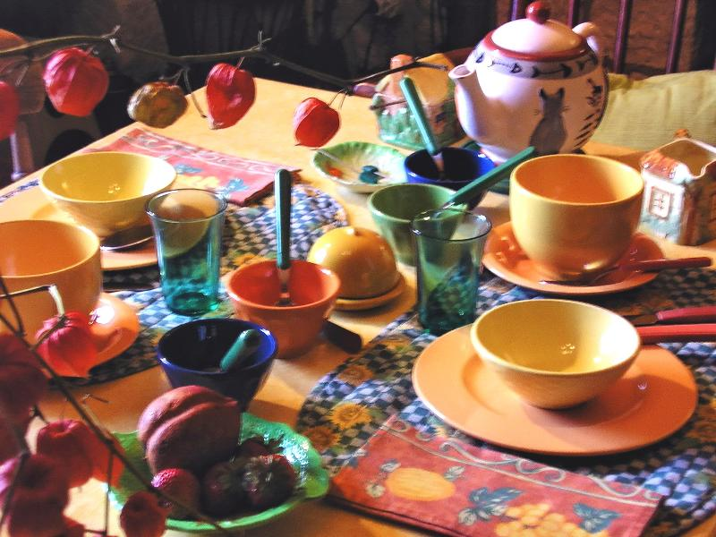 Breakfasts at Les Chimères are renowned with little touches that make for a memorable moment