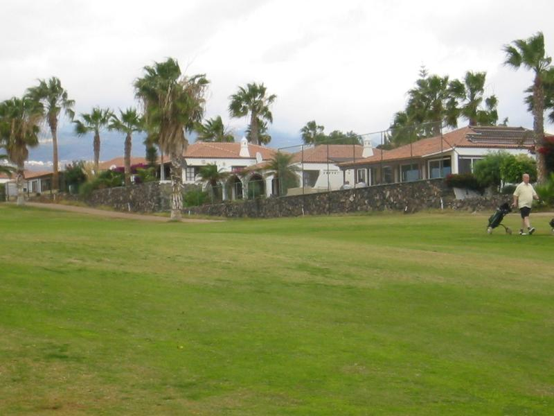 View of the Villa from the Fairway