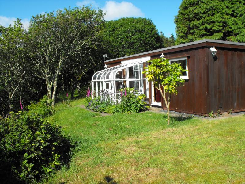 Hilltop Chalet, Aberdovey, Wales.  Totally refurbished.  Beautiful views.  Dog friendly and free!