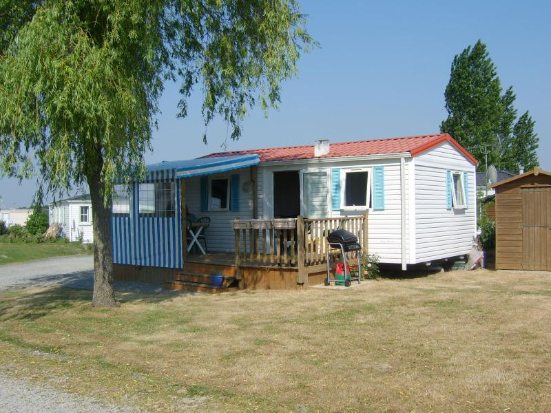 Front of Chalet Vendee