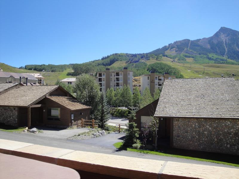 Wonderful Views of the Ski Area from Balcony w/Hot Tub (Private)