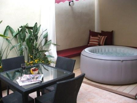 Dine & Relax on the Ground Floor Terrace