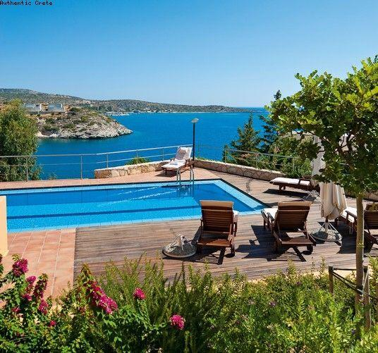 Pool with amazing views