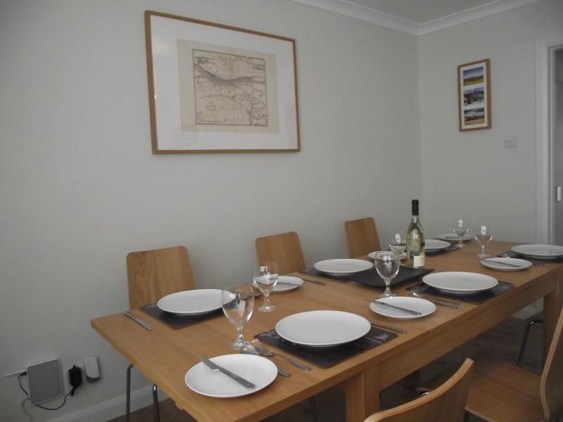 Dinning Area for six with ease