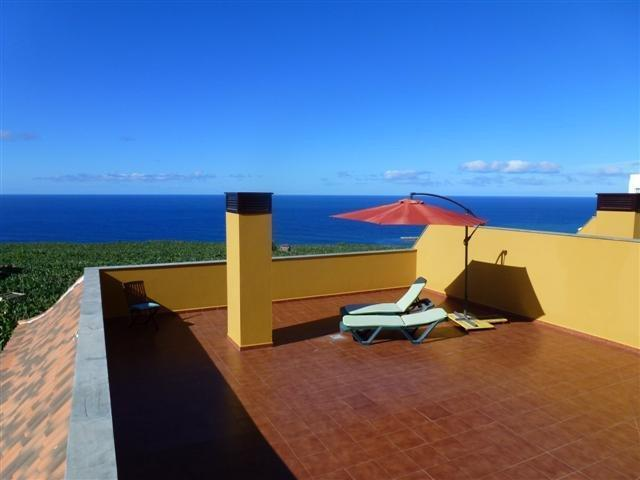 private penthouse terrace with spectacular panoramic ocean views