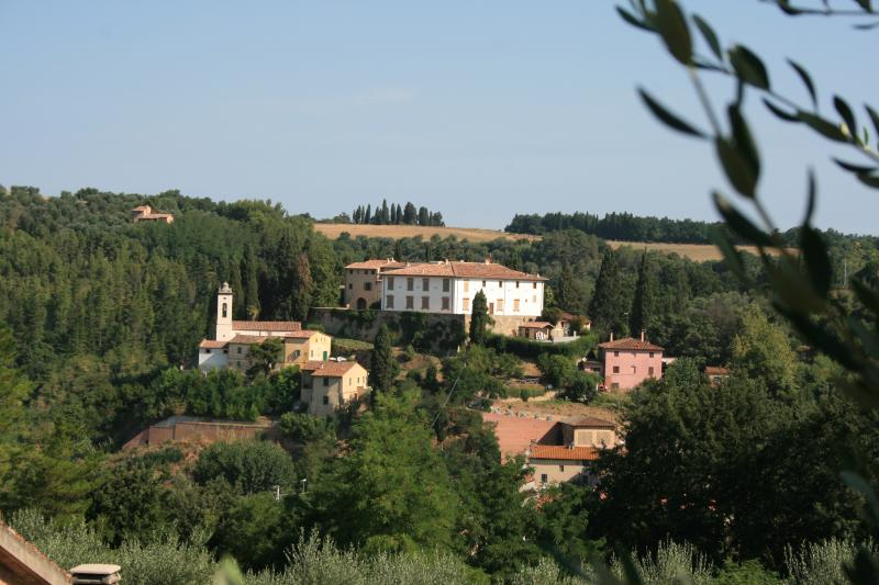 The Castello from across the Valley