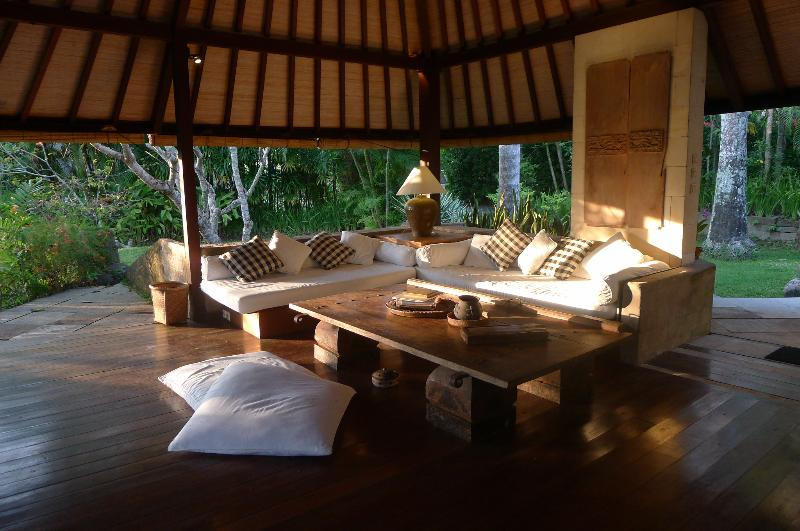 Early morning light in our open living area