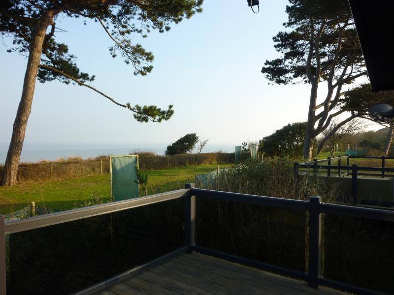 A wonderful sea view from the large private verandah