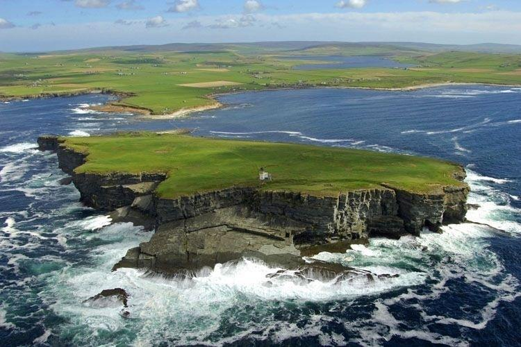 The brough of Birsay,just a short stroll away
