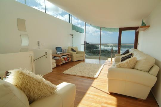 Stunning sea view from the spacious living area