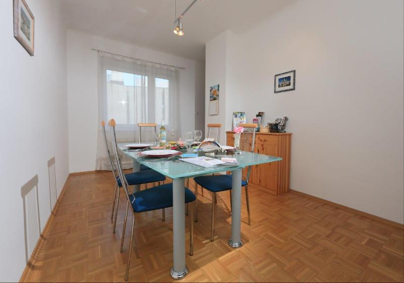 separate and spacious dining room