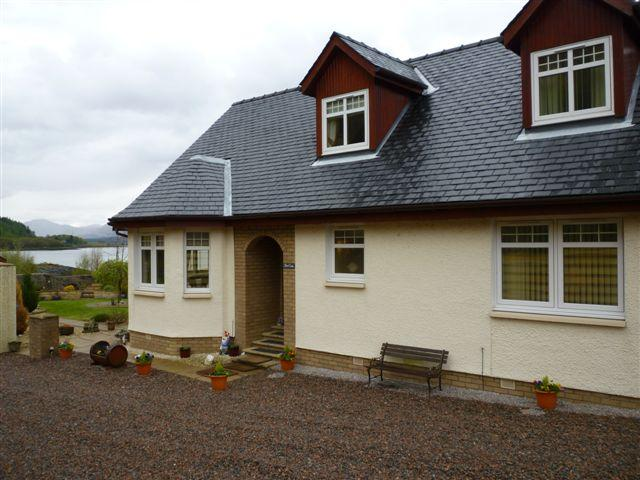 Craig Moray Cottages .. 2  beautiful Semi Detached  cottages ; No1  cottage entrance shown