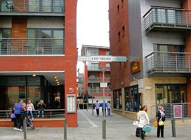 East Village entrance from Duke Street  L1 Liverpool City Centre