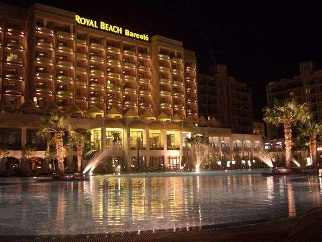 Barcelo Royal Beach Complex  - one of the three beautiful pools set within the superb grounds.