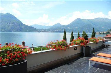 The spectacular terrace views at La Dolce Vita