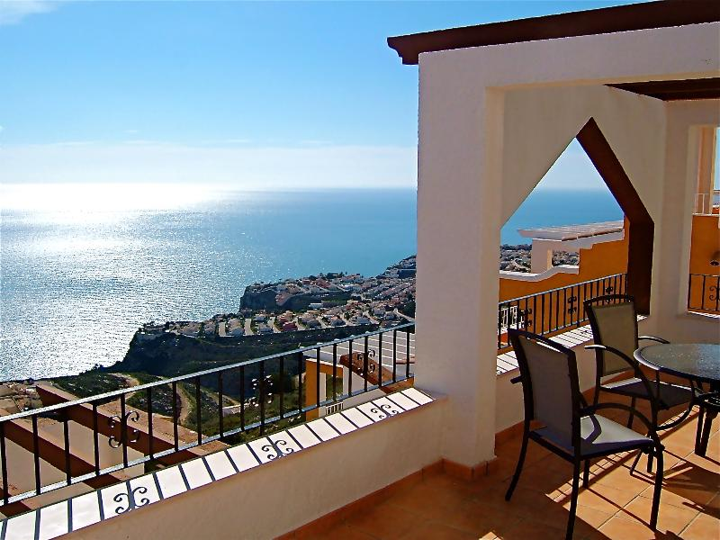 The private terrace has one of the best views in Spain