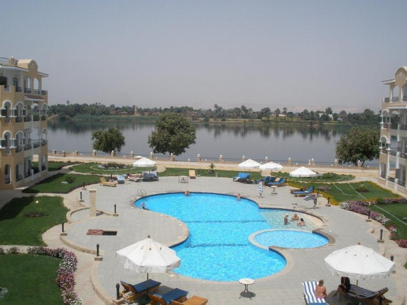 View of the Nile from the balcony
